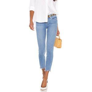Paige Verdugo Cabo Worn Hem Crop Jeans